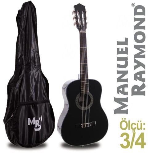 Klasik Gitar Junior Manuel Raymond MRC87BK (KILIF HEDİYE)