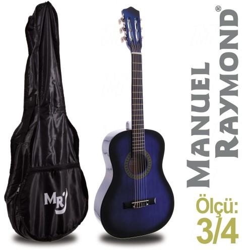 Klasik Gitar Junior Manuel Raymond MRC87BLS (KILIF HEDİYE)