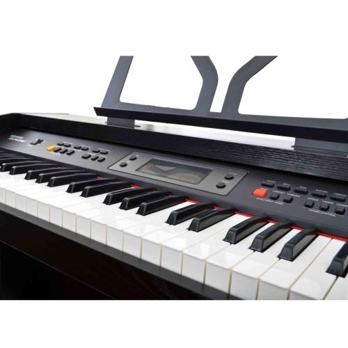 Dijital (Silent) Piyano Manuel Raymond 61 Tuş Siyah MRP3261BK