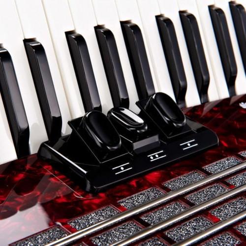 Akordeon Weltmeister Rubin 30/60/II/3 Kırmızı WM-01010082