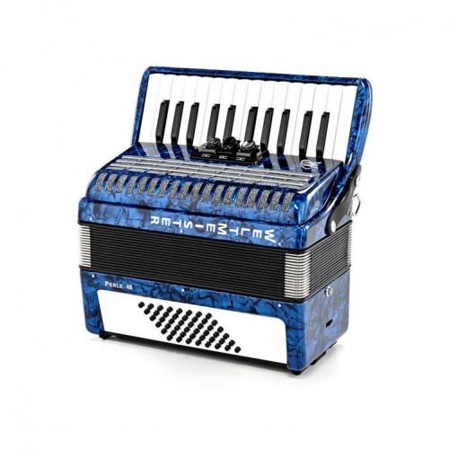 Accordion Weltmeister Perle 26/48/II/3 Blue WM-01010179